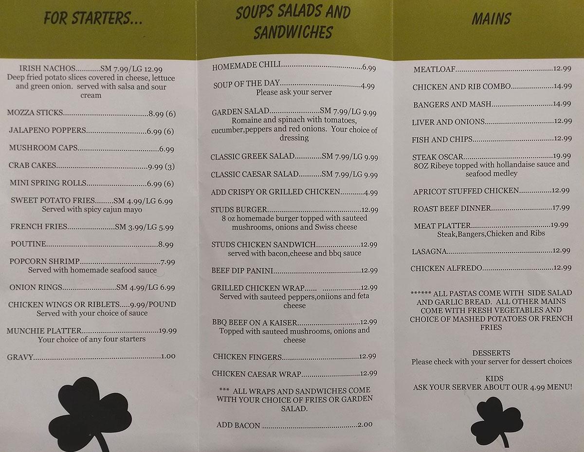 studs_menu